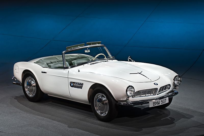 Image of the 1950s BMW 507