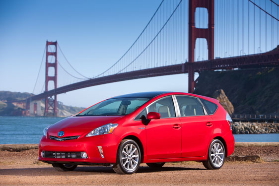 The 2012 Toyota Prius V Five