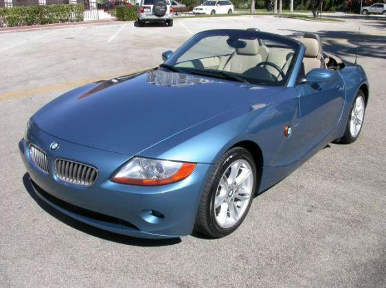 Image of the BMW Z4 which was in production between 2002-2008.