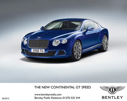 The New Bentley Continental GT Speed Coupe