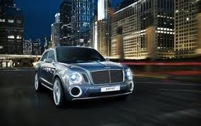 The Exterior of the Bentley EXP 9F Concept SUV