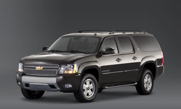 Chevrolet Suburban Three Quarter Ton SUV 2012