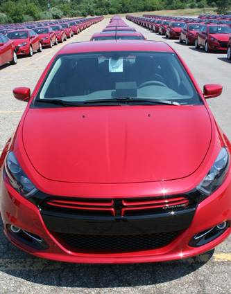 The Dodge Dart 2013
