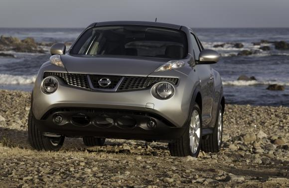 The Nissan Juke SUV 2012