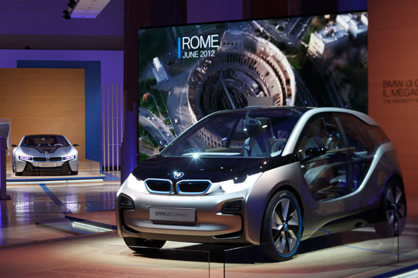 The BMW i3 and i8 Concept