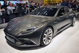 Lotus Eterne Concept Sedan 2015