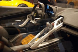 Inside View of the Lotus Eterne Sedan 2015 Concept