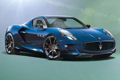 The Maserati GranSport Super Car 2015