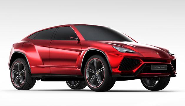 The Lamborghini Urus SUV