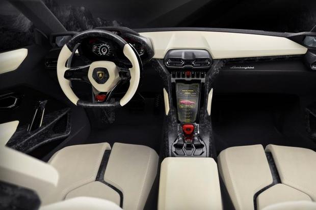 Lamborghini Urus SUV - Interior View
