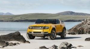 The Land Rover DC100 Sports SUV