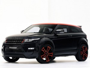 The Land Rover DC100 SUV Coupe