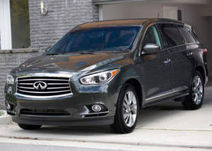 2013 Infiniti JX SUV - Most Tech Heavy SUV