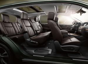 2013 Infiniti JX SUV - Most Tech Heavy SUV