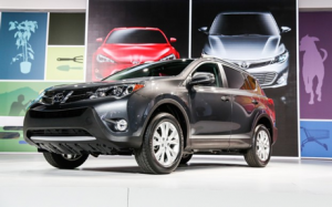 2013 Toyota RAV4 at the L.A. Auto Show