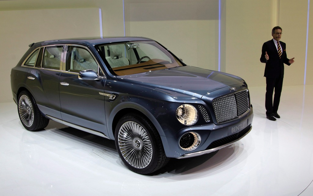 2016 Bentley Will Make You Holler Your Heart Out Suv