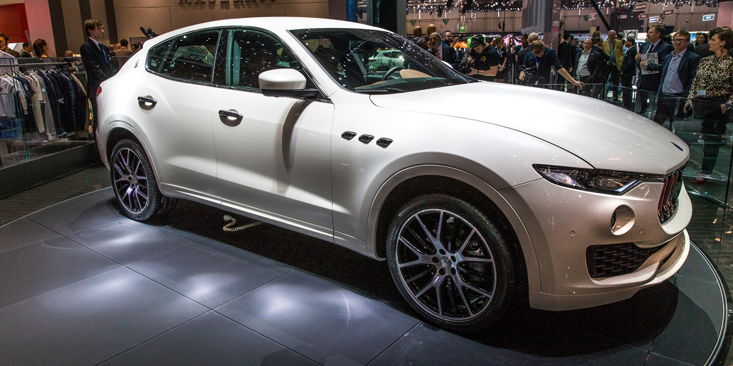 maserati levante will have a plug in version suv news and analysis. Black Bedroom Furniture Sets. Home Design Ideas