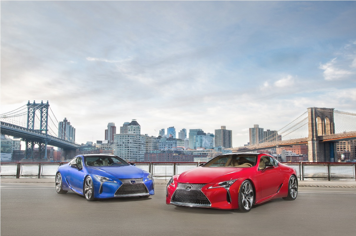 Lexus LC 500 and LC 500 Hybrid to Debut At NY Auto Show