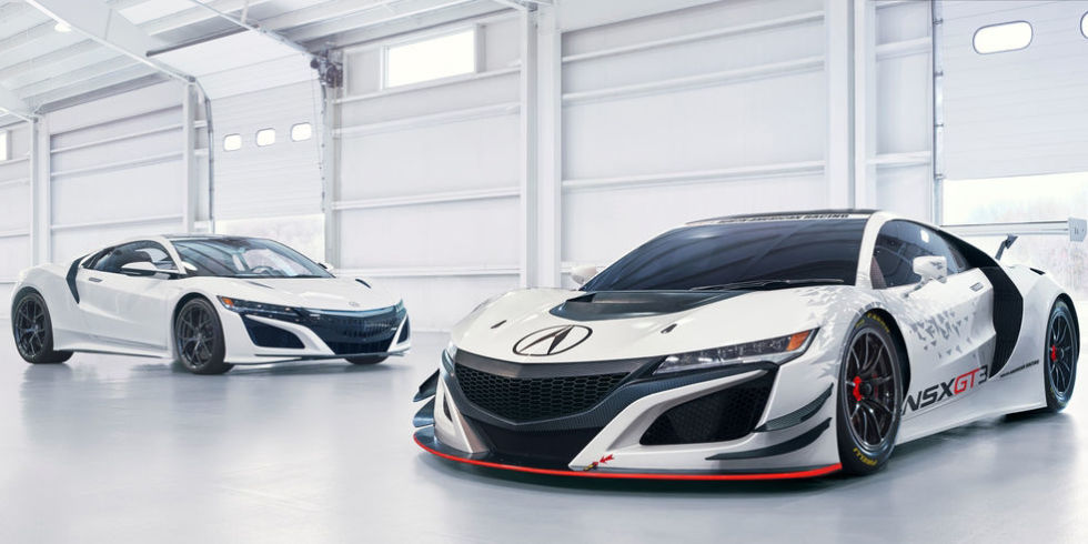 Acura NSX GT3 Race Car Unveiled At NY Auto Show | SUV News and Analysis