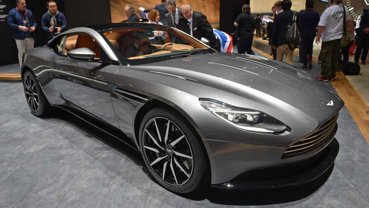 2017 aston martin db11 launched at geneva motor show suv news and analysis. Black Bedroom Furniture Sets. Home Design Ideas