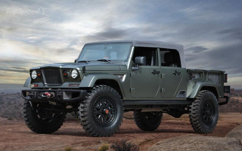 Bad Ass Suv >> 2016 Jeep Crew Chief 715 Is Simply Badass Suv News And Analysis