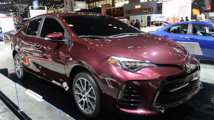 2017 toyota corolla 50th anniversary special edition unveiled suv news and analysis. Black Bedroom Furniture Sets. Home Design Ideas
