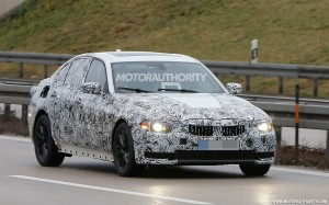 2018 bmw 3-series spy shot