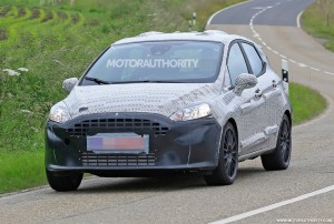 2018 ford fiesta st spy shots (2)