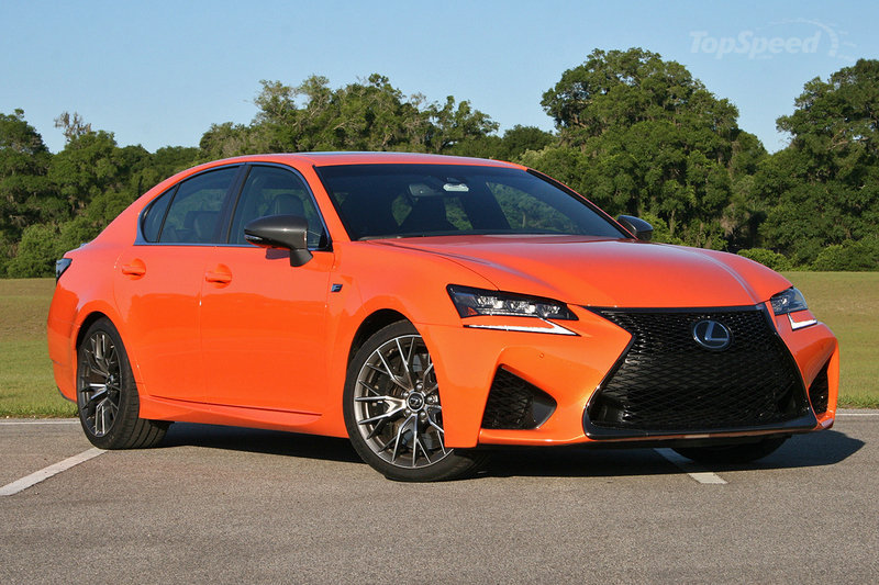 2016 lexus gs f is all about power and aggressive styling suv news and analysis. Black Bedroom Furniture Sets. Home Design Ideas