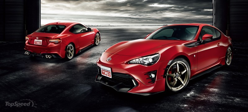 2017 toyota 86 trd receives minor upgrades suv news and analysis. Black Bedroom Furniture Sets. Home Design Ideas