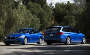 BMW 328d sedan and sports wagon