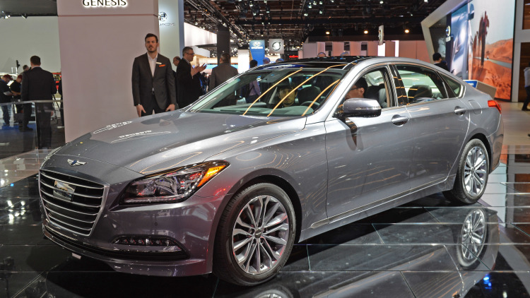 hyundai genesis gets linked with amazon s alexa suv news and analysis. Black Bedroom Furniture Sets. Home Design Ideas