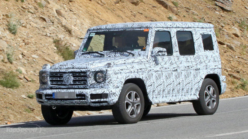 Mercedes benz g class is finally getting updates for 2018 for How much is a mercedes benz suv