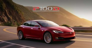 tesla model s performance model p100d