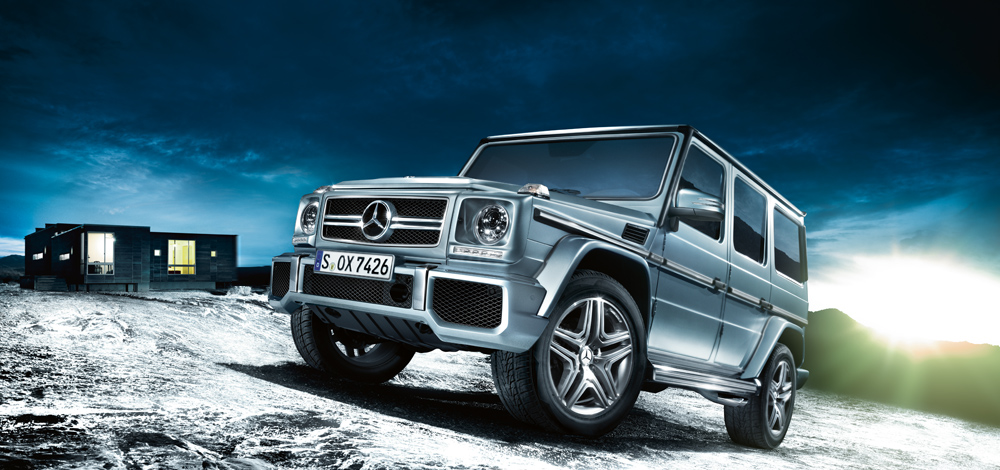 Boxy mercedes suv the living legend suv news and analysis for Camioneta mercedes benz