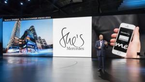 Mercedes-Benz Cars auf der Auto Shanghai 2017