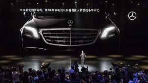 Mercedes-Benz S-Klasse Weltpremiere im Rahmen der Mercedes-Benz Media Night auf der Auto Shanghai 2017.