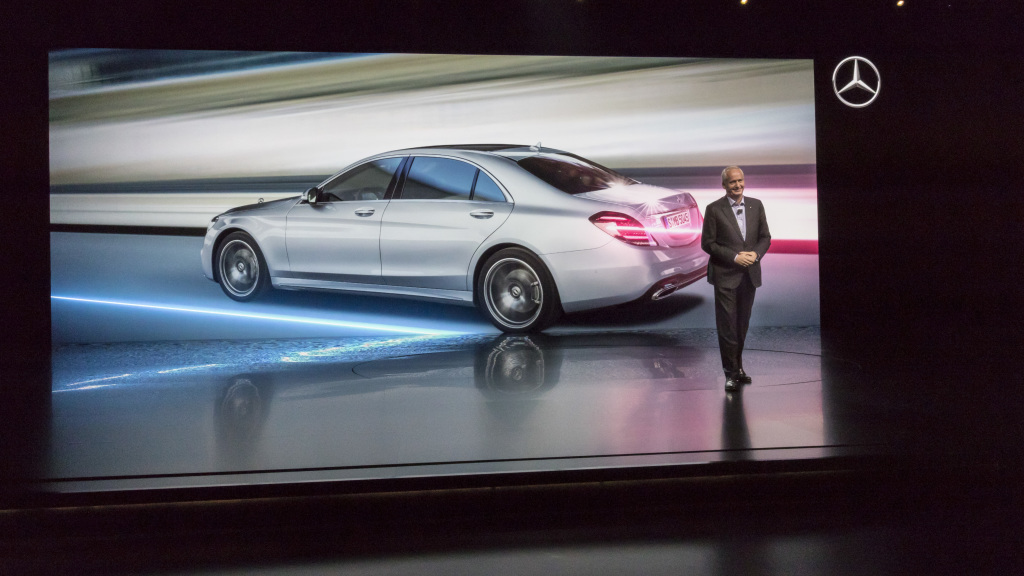 Mercedes-Benz S-Klasse Weltpremiere im Rahmen der Mercedes-Benz ...