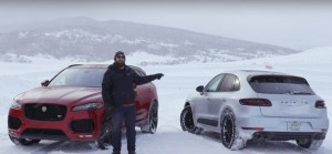 Porsche Macan GTS and Jaguar F-Pace S