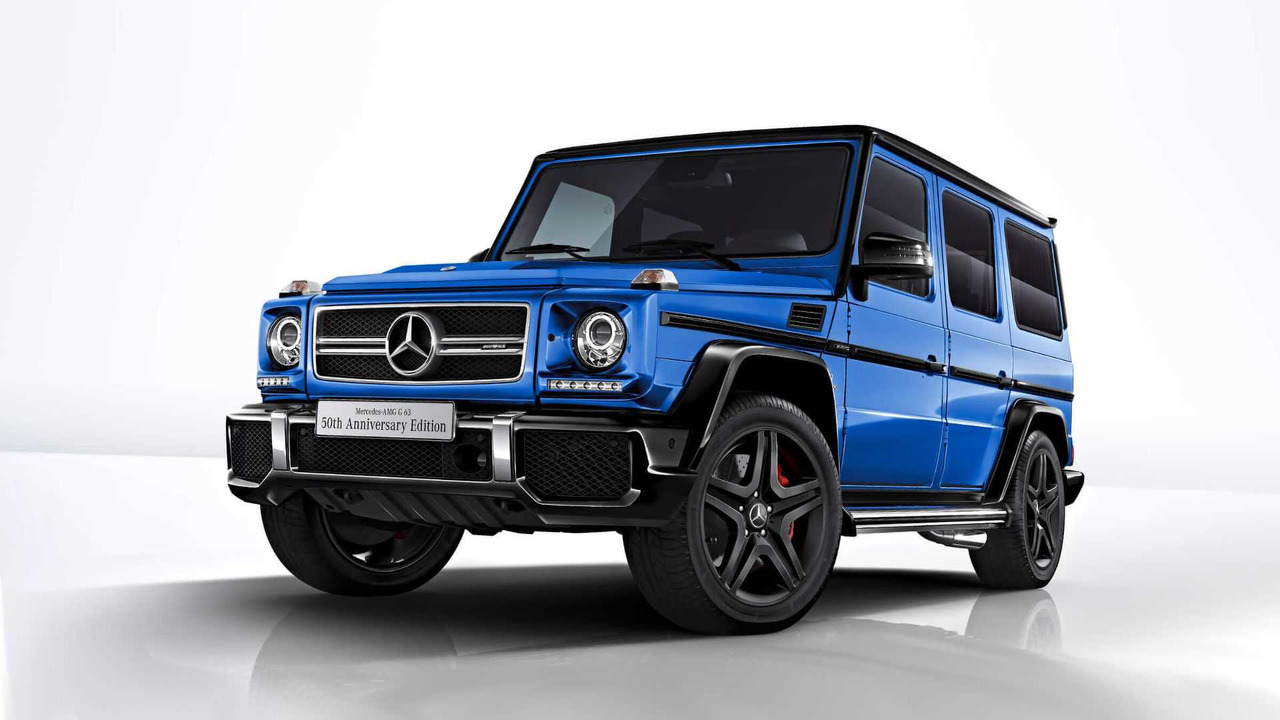 Special edition mercedes g class and cla released in japan for Mercedes benz g class amg