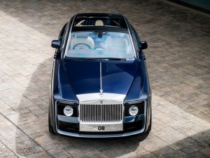 The unique $13 million Rolls-Royce Sweptail.