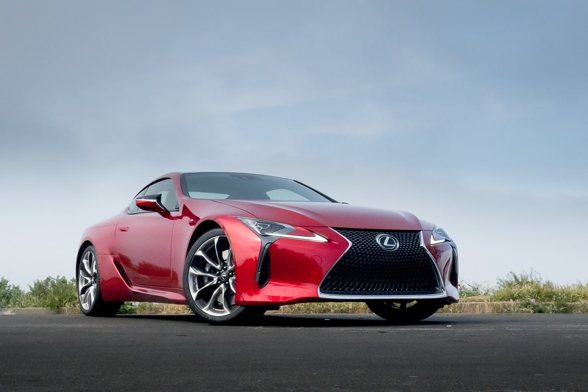 top 3 selling points of the 2018 lexus lc 500 suv news and analysis. Black Bedroom Furniture Sets. Home Design Ideas