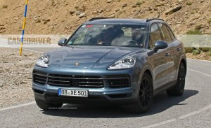 2019 Porsche Cayenne Spy Photos