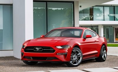 how much do the 2018 ford mustang models cost suv news and analysis. Black Bedroom Furniture Sets. Home Design Ideas