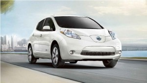 Pictured above is the 2017 Nissan Leaf.