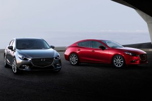 mazda 3 sedan and hatchback