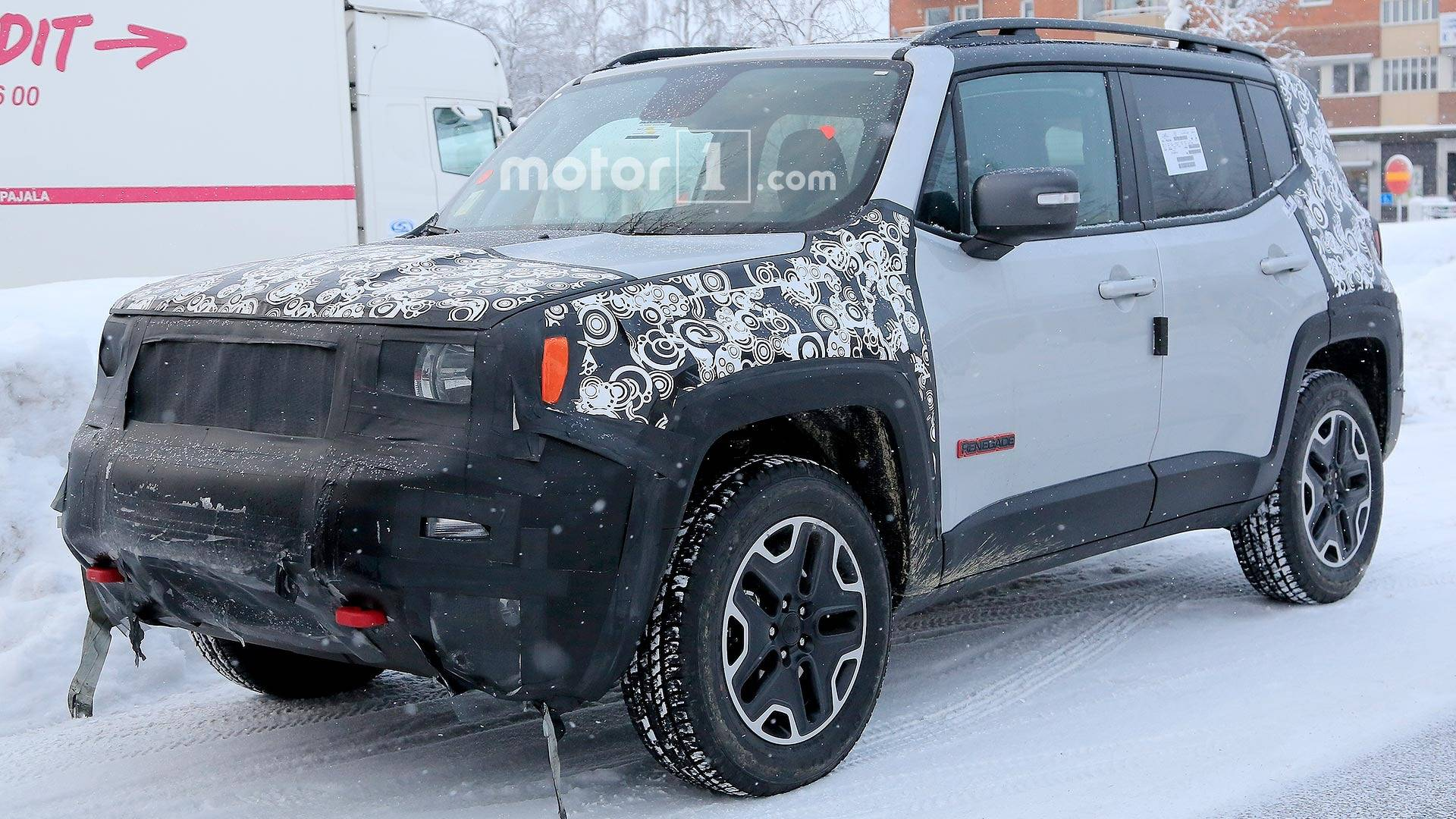 this is what the 2019 jeep renegade spy shots tell us suv news and analysis. Black Bedroom Furniture Sets. Home Design Ideas