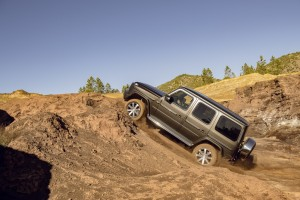 The G-Class gets an improved off-road performance.