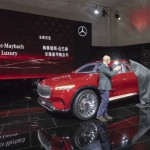 "Mercedes-Benz Vernissage ""Vision Mercedes-Maybach Ultimate Luxury"" am Vortag der Auto China 2018, präsentiert von Gorden Wagener und Nicholas Speeks"