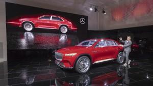 """Mercedes-Benz Vernissage """"Vision Mercedes-Maybach Ultimate Luxury"""" am Vortag der Auto China 2018, präsentiert von Gorden Wagener"""